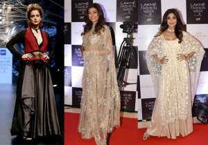 The prestigious Lakme Fashion Week is going on in full- India Tv