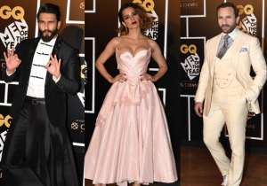 B-town witnessed a glitzy event on Tuesday evening, as it- India Tv