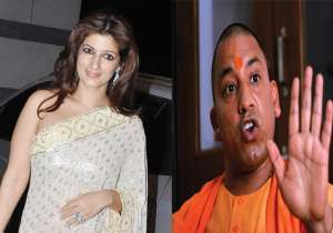 Yogi Adityanath, Twinkle Khanna, UP CM Yogi- India Tv