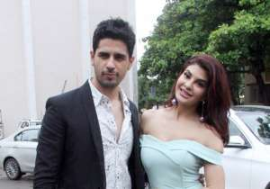 Sidharth Malhotra and Jacqueline Fernandez promoted their
