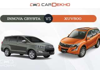 With the Innova Crysta, Toyota addressed the core issues that plagued the older Innova. The new-generation is not only far better equipped, but is also more powerful and luxurious. How does it stack up against Mahindra's flagship crossover, the XUV500 Let's take a look