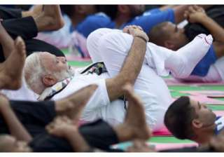 The sequel of International Yoga Day is being celebrated today, the 21 of June worldwide. 139 countries registered themselves to participate in the celebrations.Prime Minister Narendra Modi also participated in the celebrations held at Capitol Complex in Chandigarh, Punjab. At the venue around 30,000 people gathered to take steps towards health and well being. While addressing the people, Mr. Modi urged everyone to make Yoga a part of their lives. He also added that it was not a religious practice but this age old practice can help people get rid off their health and mental issues.