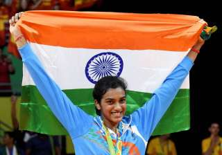 21 year old PV Sindhu has become the first Indian woman to win an Olympic silver medal. At the Rio Olympics she settled for the white medal after being beaten 21-19, 12-21, 15-21 by World No.1 Carolina Marin of Spain. The Hyderbadi started on a positive note but after 3-3, the Spaniard dominated the proceedings and took four consecutive points to lead 7-3 and then 9-5. Despite not being able to clench the gold medal, PV Sindhu won everyone's respect. Irrespective of the colour of the medal, Sindhu emerged the apple of the eye for every Indian citizen. Her game brought the nation to a standstill with people glued to television sets.