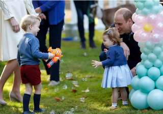 Little Princess Charlotte, Prince George and their parents, Prince William and Kate are currently in Canada on their first official trip overseas as a family of four. The eight-day trip marks the first overseas jaunt for 1-year-old Charlotte. Her brother, 3-year-old George, has visited Australia and New Zealand on an official tour.