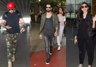 Bollywood celebrities and their airport fashion has been a hot topic of discussion since long. Our beloved stars prefer to travel in style and make sure that they are looking click-able. Who knows when the paparazzi might pop up? So here are some of the best airport looks of our dearest Bollywood celebrities. Which one would you like to steal?