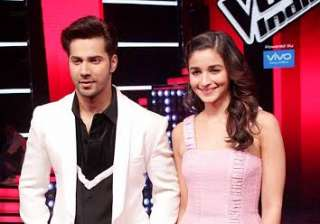 Alia Bhatt and Varun Dhawan are back with their romance in 'Badrinath Ki Dulhania' and the duo was seen on 'The Voice India' season 2 for promotions.