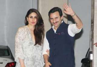 Kareena and Karisma Kapoor's mother Babita Kapoor turned 69 today. On her special day, the Kapoor family attended her birthday in style. Kareena made a stunning appearance with husband Saif Ali Khan by her side.