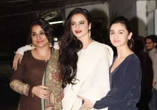 Vidya Balan starrer Begum Jaan has become one of the most talked about films in B-town industry. And when the special screening of the film was held yesterday, celebs rocked the event in style.