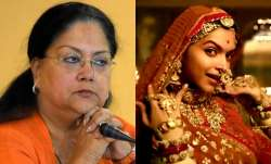 Vasundhara Raje writes a letter to the centre on Padmavati