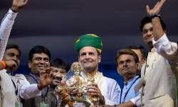 Rahul Gandhi, Congress party president