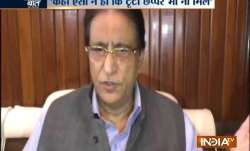 SP's Azam Khan threatens Rampur DM for taking action in