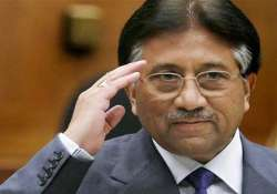 Former Pakistan Army chief Pervez Musharraf