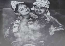 Dimpy Ganguly with husband Rohit