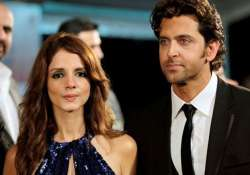 Sussanne Khan and Hrithik Roshan