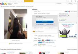 Prankster puts wife up on sale on eBay, bids hit a whopping