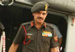 File photo of Army Chief General Dalbir Singh Suhag.