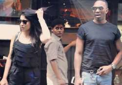 According to Shriya Saran, her lunch date with Dwayne Bravo