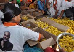 Delhi BJP to distribute one laddoo per family for standing