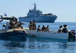 Indian ship hijacked by Somali pirates rescued, 8 of 10