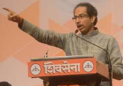 File pic - Sena chief Uddhav Thackeray- India Tv