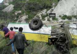 At least 20 feared dead as bus falls in gorge near Himachal