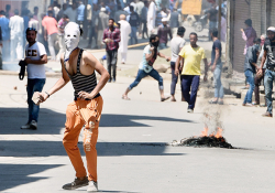 Phone calls of 48 'habitual' stone-pelters led to- India Tv