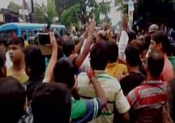 TMC-BJP supporters clash after RSS activist injured in- India Tv