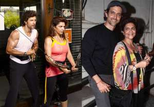 Hrithik Roshan and Pinki Roshan- India Tv