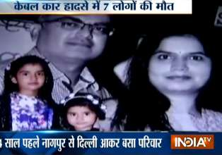 Delhi family of 4 among seven dead in Gulmarg cable car- India Tv