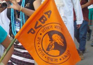 ABVP twitter handles briefly suspended, outfit...