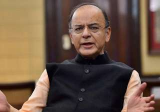 File pic of Union Finance Minister Arun Jaitley -...
