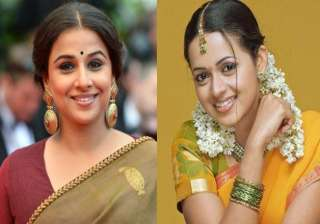 Vidya Balan and Bhavana - India TV