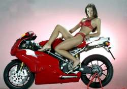 hot girls and super cool ducati bikes part i