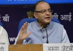 arun jaitley to interact with top tax officials today