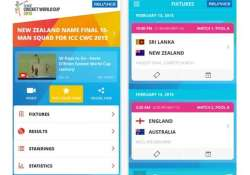 top 5 apps for cricket world cup 2015