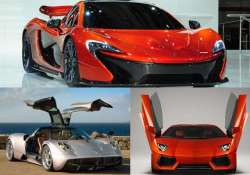 top 10 spectacular supercars that will cost you a fortune