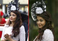 aishwarya rai shimmers at royal ascot race view pics