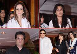 bollywood celebs attend dj aqeel s sister s prayer meet