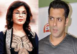 shocking zeenat aman insults salman khan over maine pyar