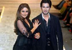 shahid kapoor never said no to working with kareena