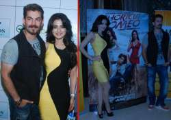 neil and ameesha promoted shortcut romeo with jaipur