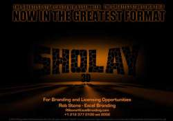 rs. 25 crore spent on sholay 3d
