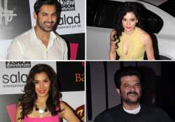 john kangana tusshar at the success bash of shootout at