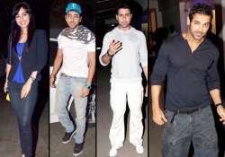 stars attend special screening of madras cafe view pics