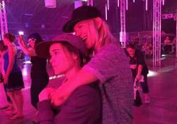 ellen page shares cosy photograph with girlfriend samantha