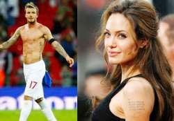 beckham angelina jolie tattoos sparks craze to learn latin