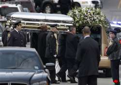 whitney houston s voice soars at hometown funeral