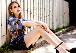 emma roberts faced tough reality after lived alone see pics