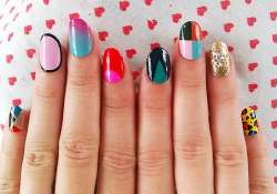 experiment with nail art piercing