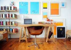 add some fun to your work space at home